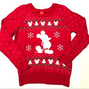 Disney Mickey Ugly Christmas Sweater Nordic L